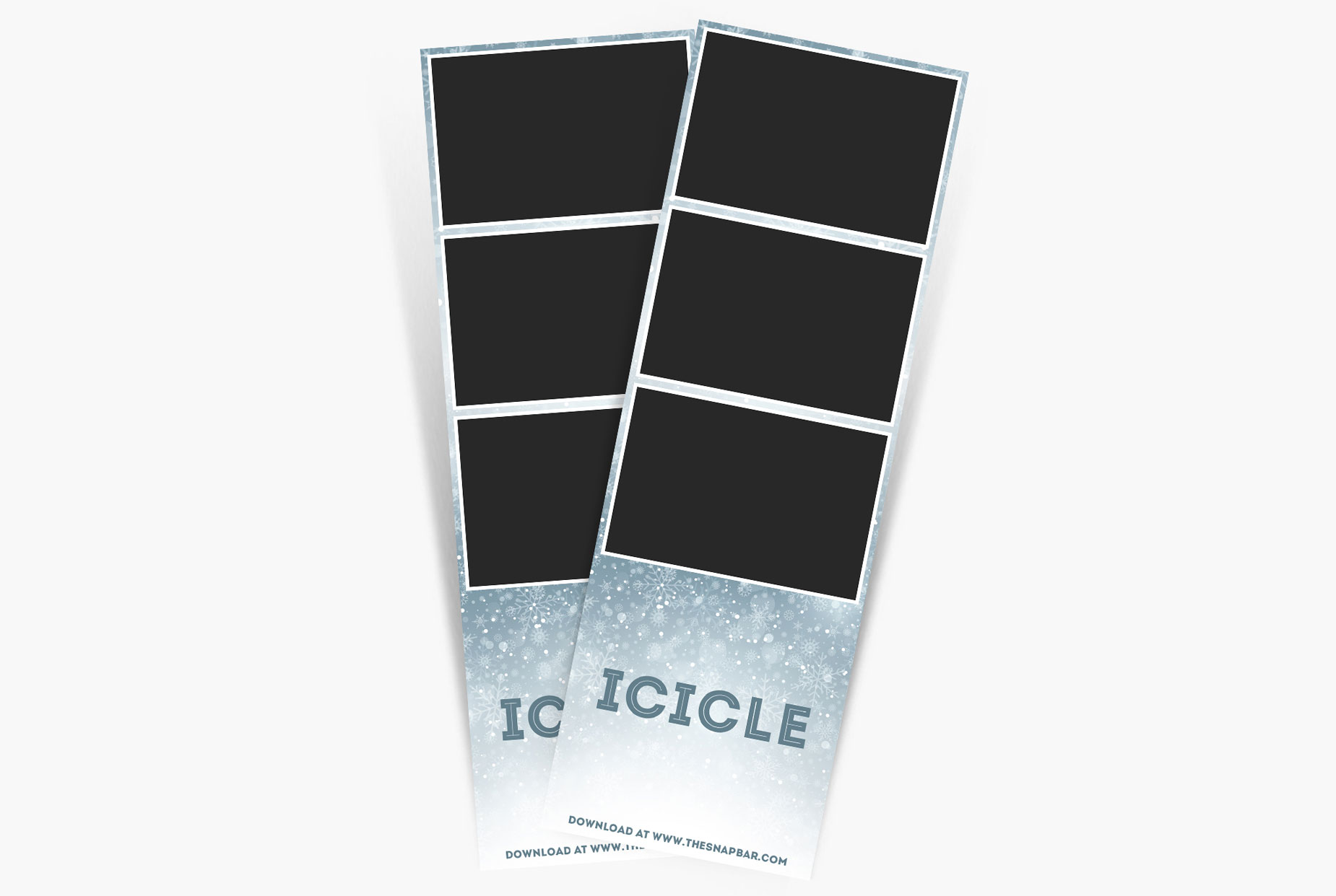 Icicle Print Template
